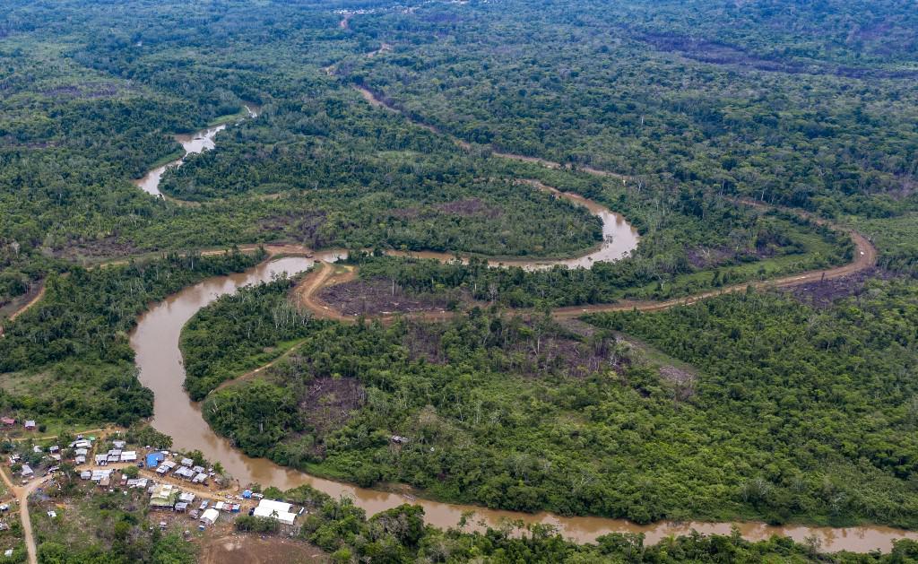 La Penita indigenous village, Darien province, Panama
