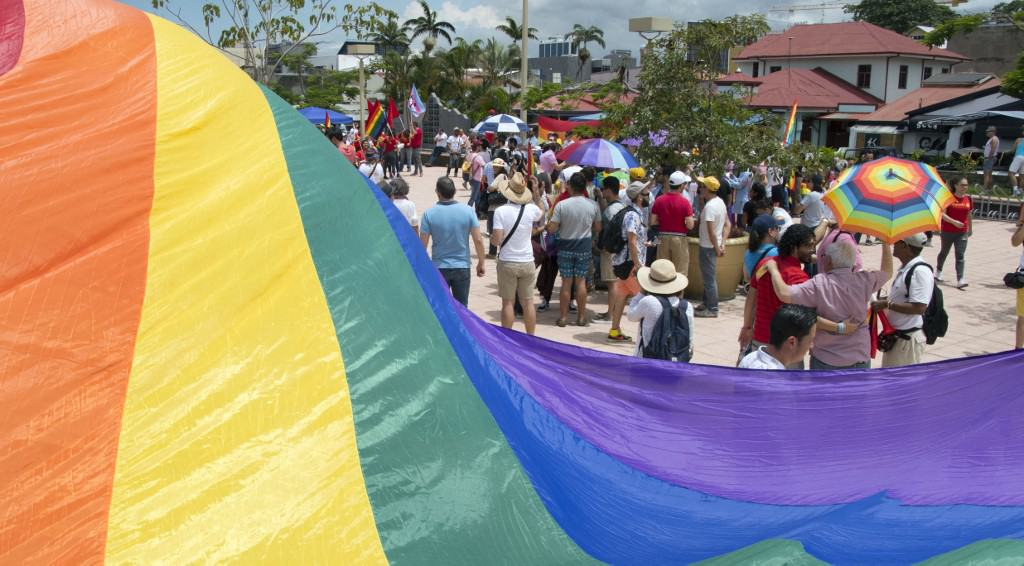 Members of the LGBTI community in Costa Rica