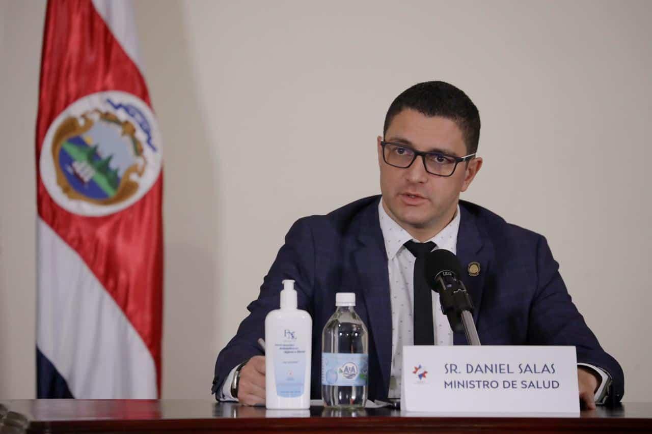 Health Minister Daniel Salas details Costa Rica's coronavirus response.