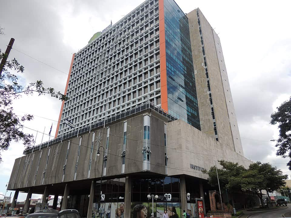 The National Insurance Institute (INS) building in San José, Costa Rica