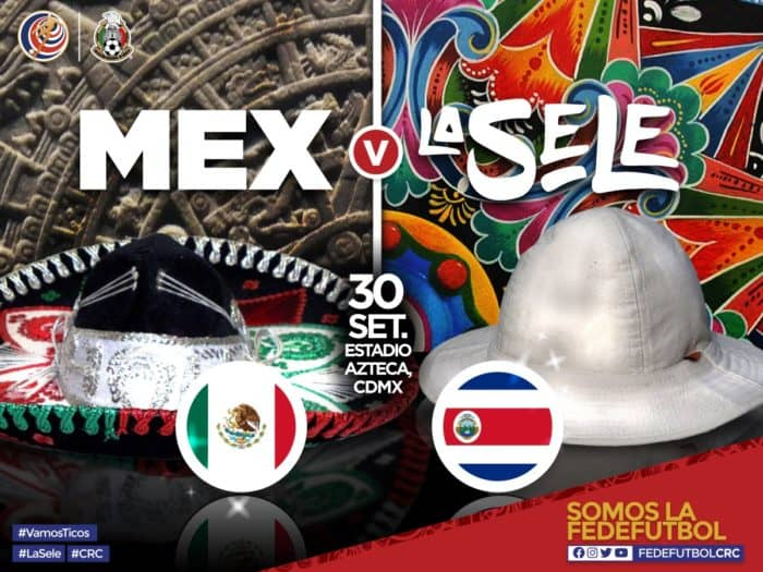 Costa Rica to face Mexico at Estadio Azteca in September