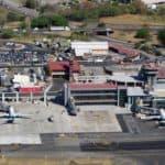 Juan Santamaría International Airport in Alajuela, Costa Rica