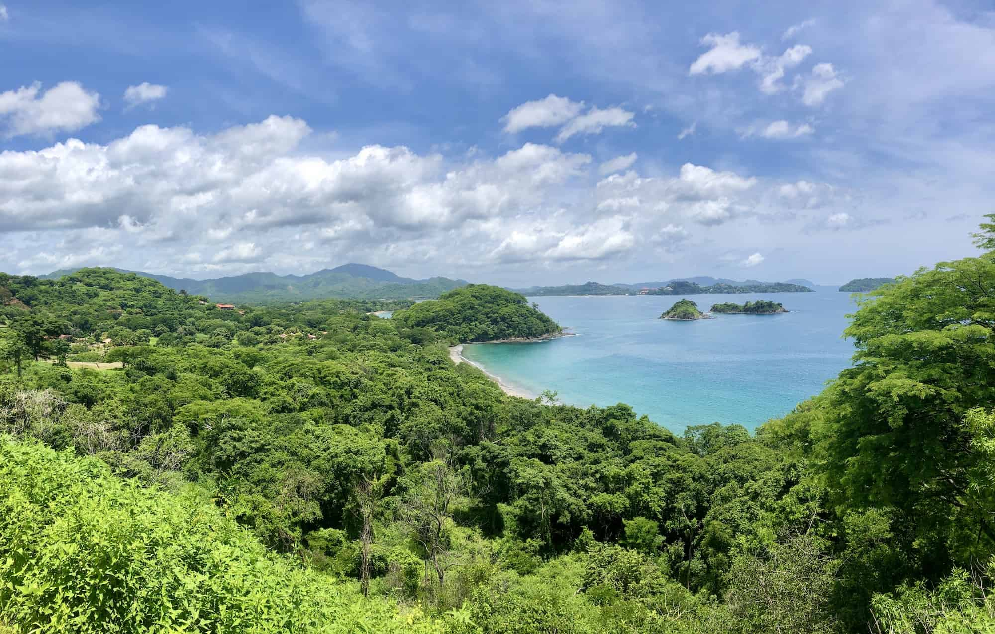 Overlooking Las Catalinas and Potrero, Guanacaste