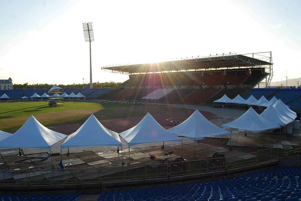 Hasely Crawford Stadium in Port of Spain, Trinidad.