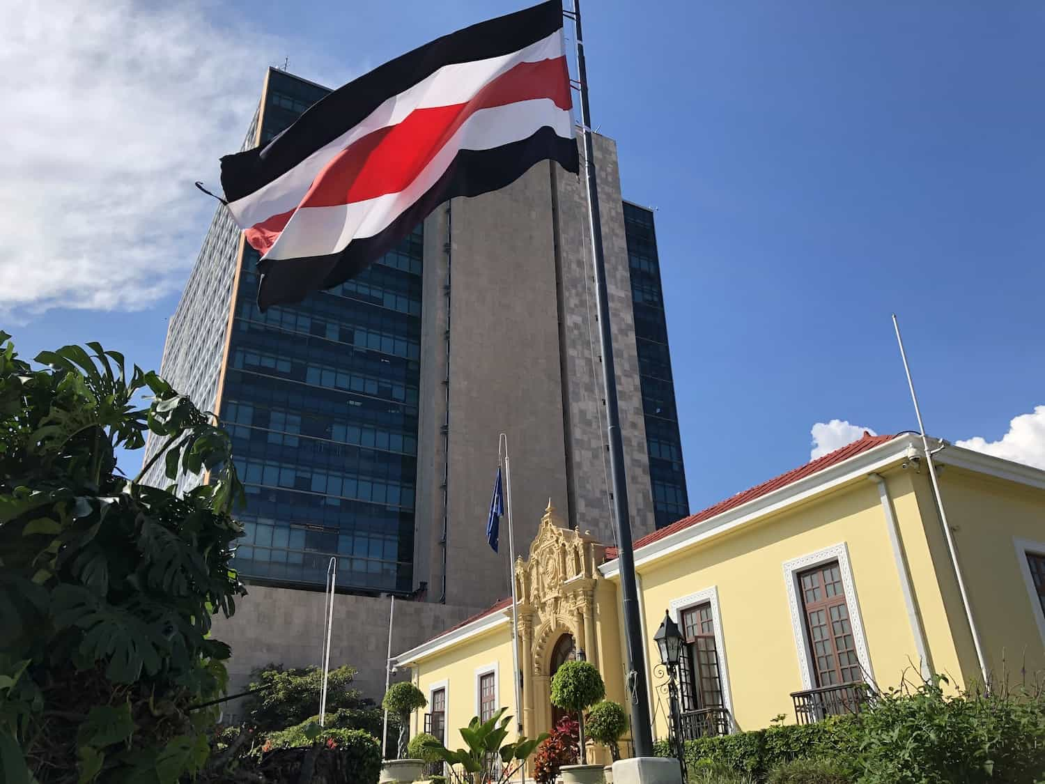 """Casa Amarilla,"" home to the Costa Rican Foreign Ministry, is located in San José."