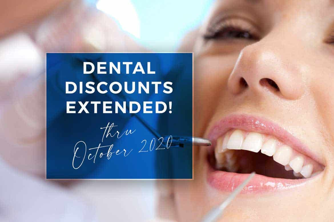 Goodness Dental has extended its discounts into October 2020.