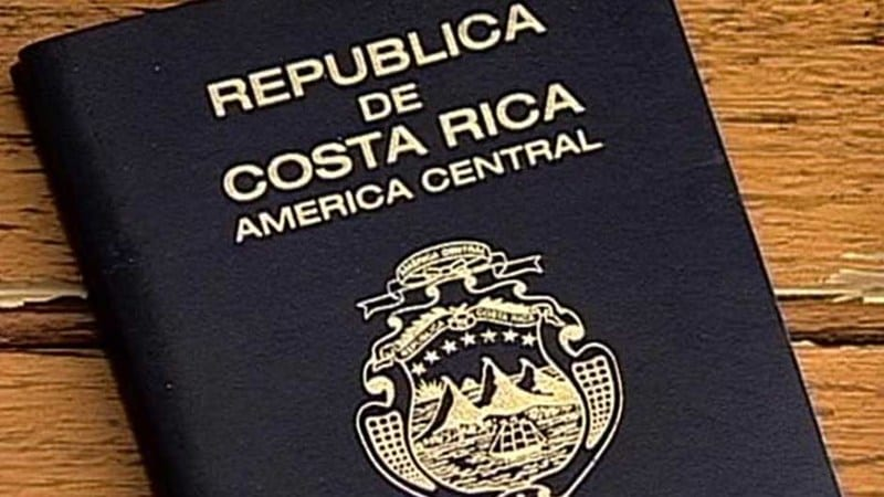 Costa Rican passport