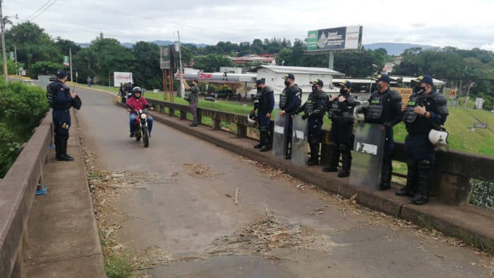 Authorities say drug traffickers contributing to protester violence -