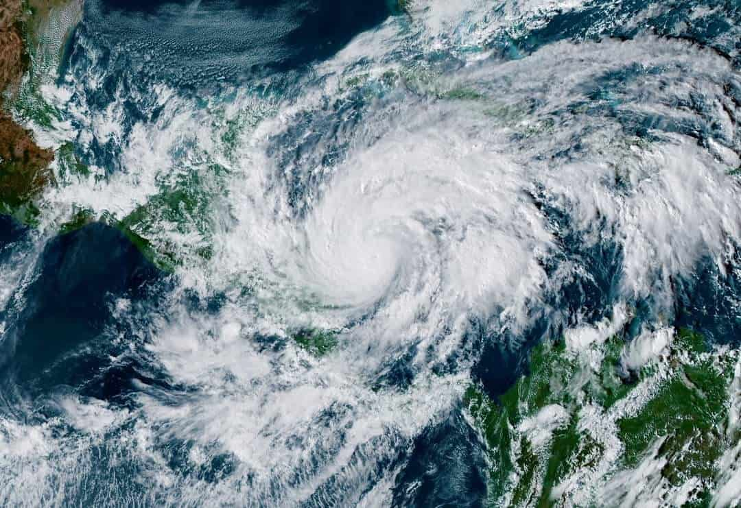 Hurricane Eta threatens Nicaragua as a major Category 4 storm on November 2, 2020.