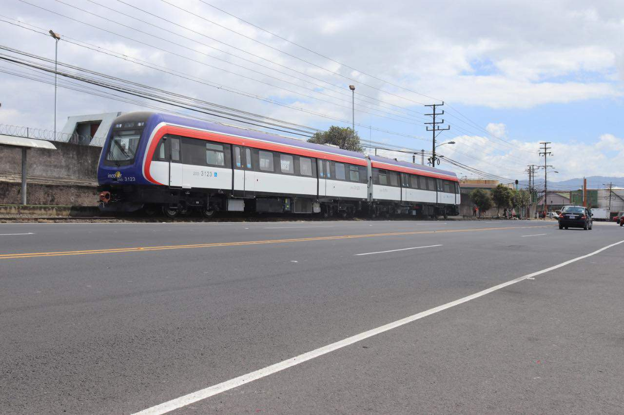 Costa Rica's new trains are undergoing testing before their April debut.