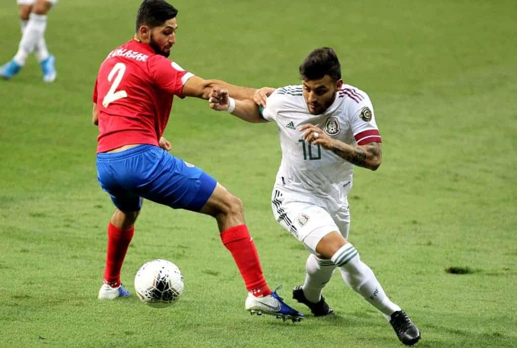 Costa Rica's Aaron Salazar