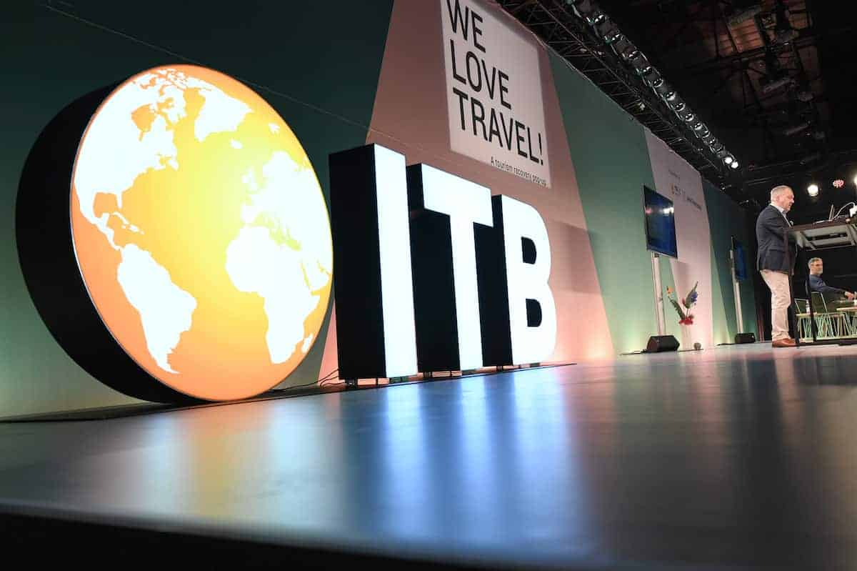 ITB Berlin tourism fair in Germany.