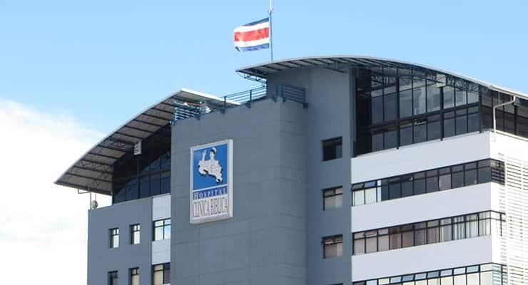 Clinica Biblica Hospital in San José, Costa Rica.