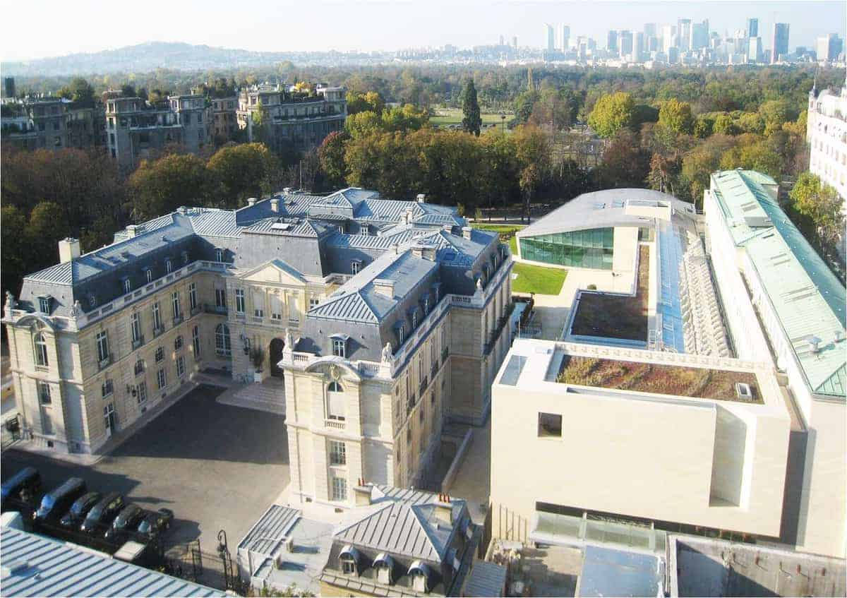OECD headquarters in Paris, France.