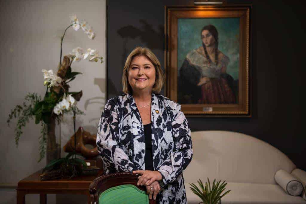 Maria Amalia Revelo, former Costa Rica Tourism Minister.