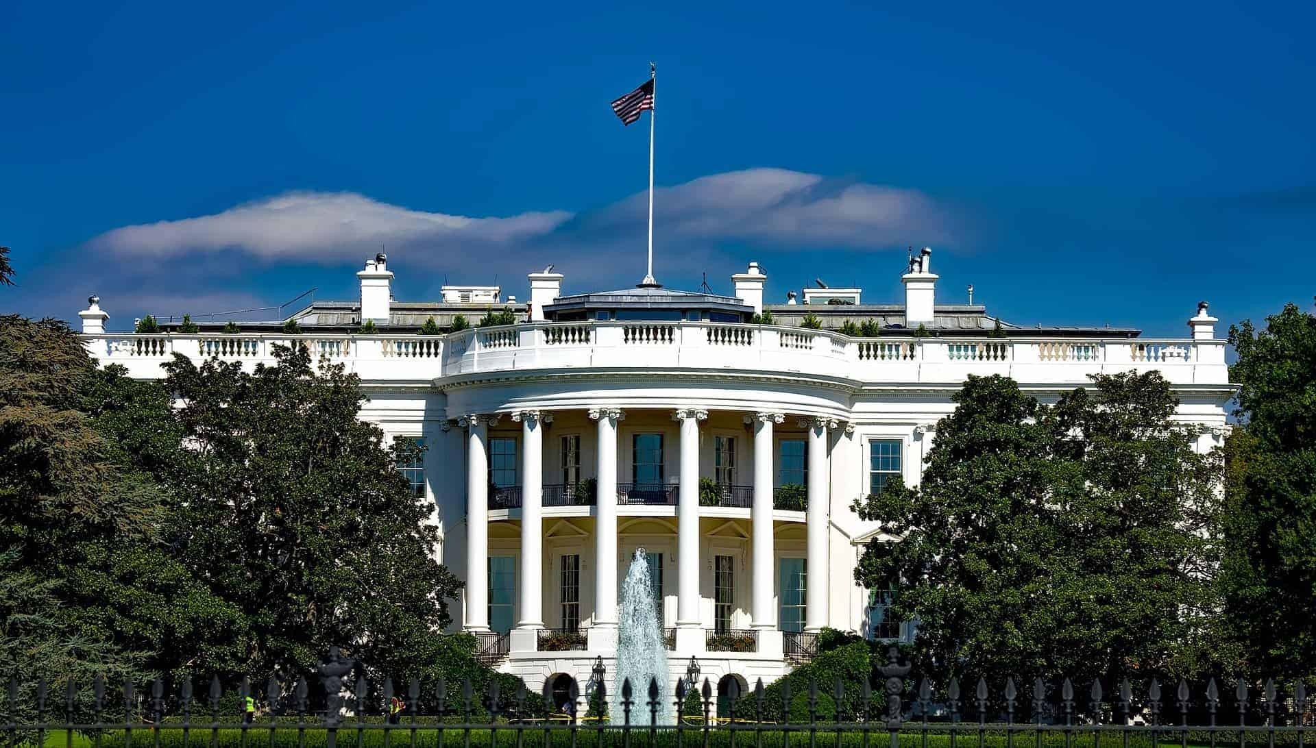 The White House in Washington D.C. is the residence and workplace of the U.S. President.