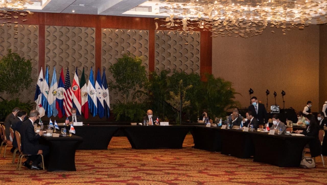 US Secretary of State Antony Blinken at a SICA meeting in San Jose, Costa Rica on June 1, 2021.