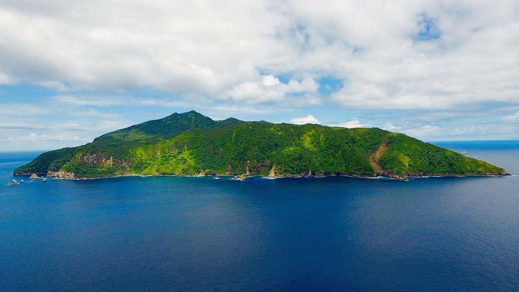 Cocos Island in the Pacific Ocean.