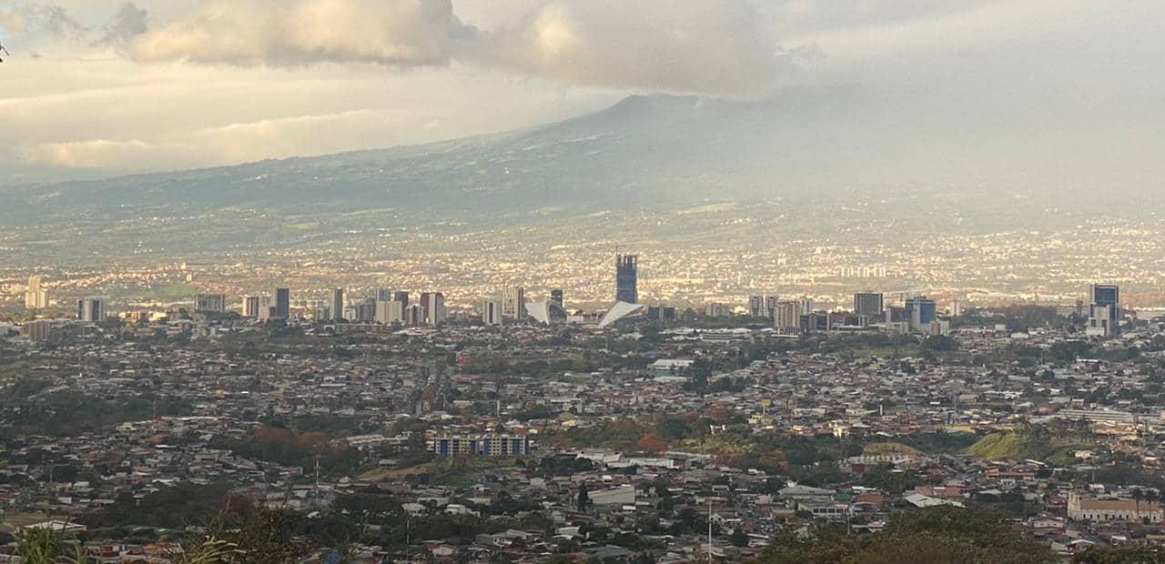 San Jose, Costa Rica, as seen in 2021.